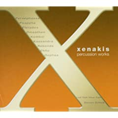 Iannis Xenakis: Percussion Works