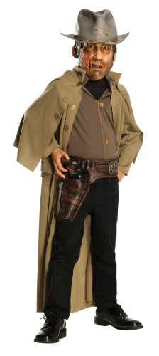 Jonah Hex Child's Molded Vinyl Gun Belt With Attached Molded Weapons