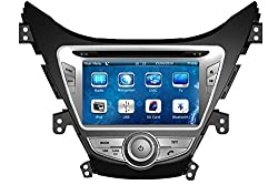 See Crusade Car DVD Player for Hyundai Elantra Md 2011-2013 Support 3g,1080p,iphone 6s/5s,external Mic,usb/sd/gps/fm/am Radio 8 Inch Hd Touch Screen Stereo Navigation System+ Reverse Car Rear Camara + Free Map Details