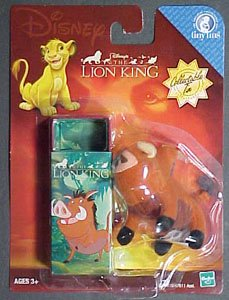 Disney's the Lion King Pumba Collectible Tin & Mini Plush Toy - 1