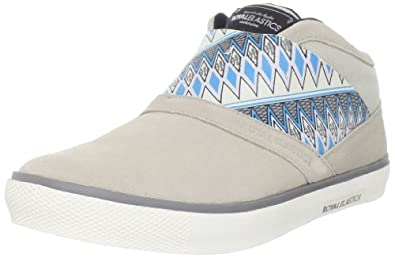 Royal Elastics Men's Cavell Hi Fashion Sneaker,Rainy Day/Steeple Grey,8.5 M US