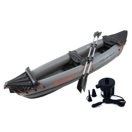 DOPPELGANGER (doppelganger) outdoor two seater inflatable kayak k-10 [electric pump and carry bag / paddle comes with two]