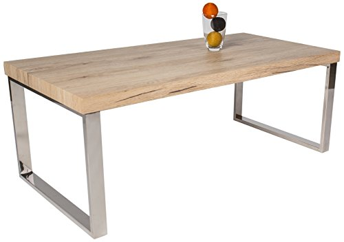 HL-Design-01-10-6171-Couchtisch-Ricardo-Tischplatte-Saremo-Eiche-Sand-Materialstrke-40-mm-100-x-50-x-38-cm-Tischbeine-in-Edelstahl