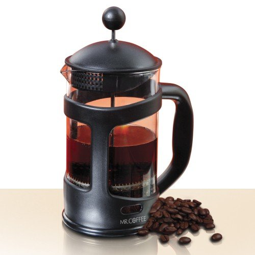 Mr. Coffee Brivio 28 oz Coffee Press ~ Protected Glass Carafe