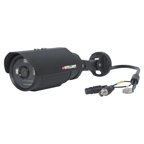 Intellinet Ibc-637Ir Outdoor Night Vision Hd Bullet Network Camera 1 Megapixel