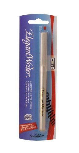 Speedball Elegant Writer Broad Calligraphy Marker, Gold