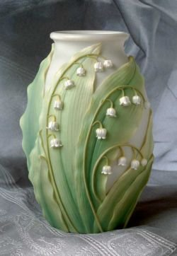 Lily of the Valley Table Vase