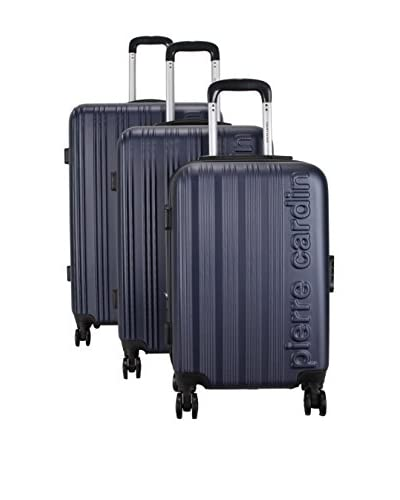 pierre cardin Set de 3 trolleys rígidos