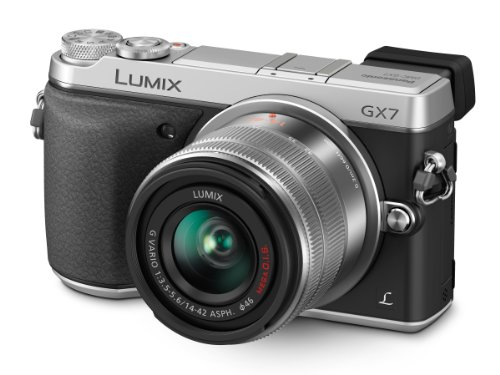 Panasonic LUMIX GX7 16.0 MP DSLM Camera with LUMIX G VARIO 14-42mm II Le