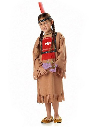 California Costume CHILD Running Brook Indian Costume (Tomahawk & shoes not included)