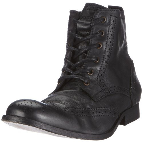 H By Hudson Men's Angus Boot Black 2904010 8 UK
