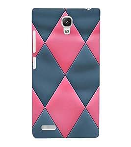 EPICCASE diamond in pink and blue Mobile Back Case Cover For Xiaomi Redmi Note Prime (Designer Case)
