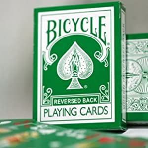 Magic Makers The Green Deck Bicycle Playing Cards