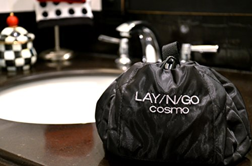 Lay-n-Go Cosmo Cosmetic Bag, Black