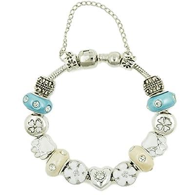 Heart Charm Bracelet For Women & Girls Comes In Gift Box