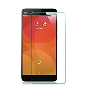 Dashmesh Shopping Anti Explosion Premium Tempered Glass, 9H Hardness Ultra Clear, 2.5D Curved Edge, Anti-Scratch, Bubble Free & Oil Stains Coating for Xiaomi Redmi Mi 4 Mi4 Comes with Complimentary Prep cloth