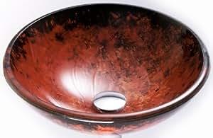 Sequoia Glass Vessel Sink
