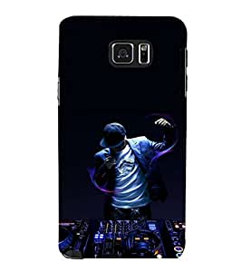 printtech Disco DJ Music Back Case Cover for Samsung Galaxy Note 5 N920