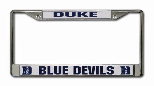 NCAA Duke Blue Devils Chrome License Plate Frame