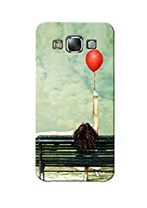 Sowing Happiness Printed Back Cover for Samsung E5