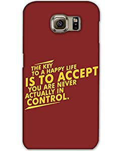 Samsung Galaxy S6Back Cover Designer Hard Case Printed Cover