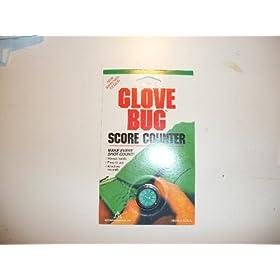 Golf Glove Bug Score Counter Attaches to Glove