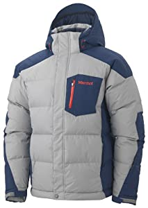 Marmot Mens Shadow Jacket - Granite / Deep Blue - Small