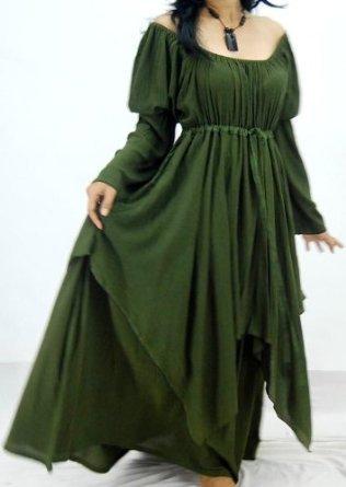 The Perfect Wedding Celtic Peasant Dresses