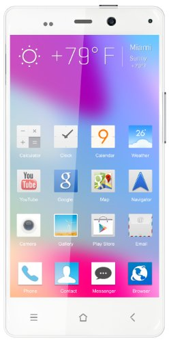 Blu Life Pure Unlocked Phone 32Gb Rom, 2Gb Ram (White)