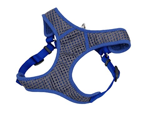 Coastal Pet Sport Wrap Harness Blue: Small miller titan by honeywell ac qc xsbl aircore full body harness x small blue