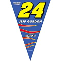 Buy Jeff Gordon #24 25 FT Party Pennants What Every Gordon Fan's Party Needs by BSI
