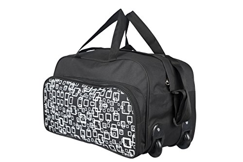 3G wheel strolley bag black