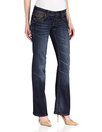 KUT from the Kloth Women's Kate Boot Cut Western Jeans,Certa,2