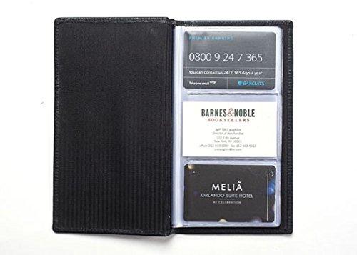 luxury-in-pelle-con-porta-carte-di-credito-e-biglietti-da-visita-96-vani-colore-nero-in-pelle-chelse