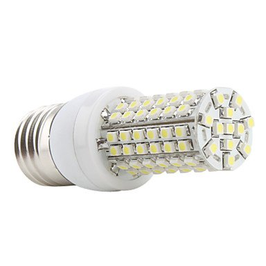 M.M E27 96X3528 Smd 3W 300Lm 5500-6500K Natural White Light Led Corn Bulb (230V)