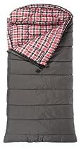"TETON Sports Celsius XL -32 Degree C / -25 Degree F Flannel Lined Sleeping Bag (90""x 36"", Grey, Right Zip)"
