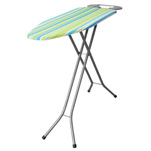 Iron Worx 102 x 33 cm Ironing Board with Cotton Cover, White