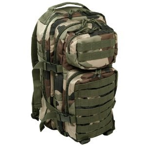 Tactical Assault Backpack MOLLE Rucksack 30L CCE Camo from Mil-Tec