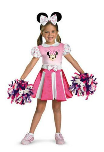 Minnie Mouse Cheerleader Toddler Costume 3T-4T - Toddler Halloween Costume