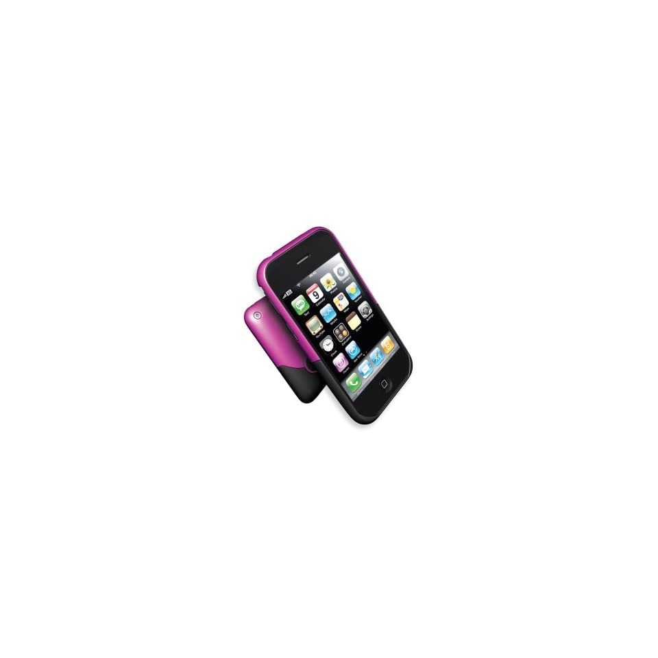 OEM iFrogz Luxe Pink & Black Case iPhone 3G 3GS