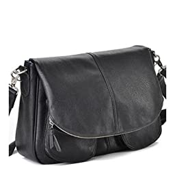 Jo Totes Betsy Camera and Laptop Bag, Black