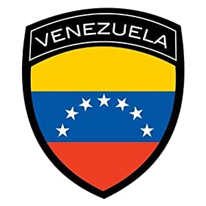 Amazon.com: Venezuela Flag Badge Sticker/Decal: Automotive
