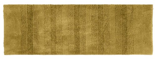 Garland Rug Essence Runner Nylon Washable Rug, 22-Inch By 60-Inch, Linen front-436076