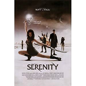 (24x36) Serenity Movie (Firefly Group) Poster Print