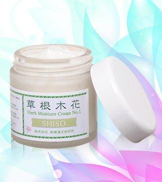 草根木花 ハーブモイスチュアクリームNo.1 乾燥肌・敏感肌・混合肌に 人気No.5 内容量:60g 今なら 20%割引
