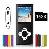 G.G.Martinsen Black,Reproductor MP3 digital, reproductor MP4, color negro