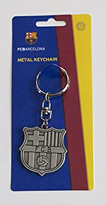 Official FC Barcelona Key Ring Keyring Keychain