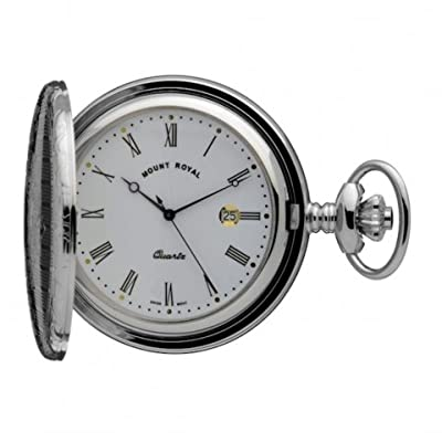 Mount Royal Pocket Watch B5 Chrome Plated Full Hunter