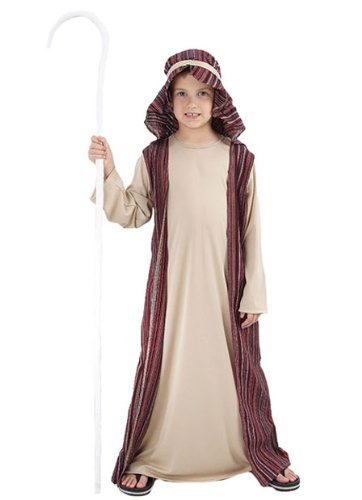 Bristol Novelty Brown Shepherd Childrens Costume Boy's Small 5-7 Years