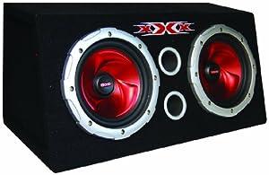 "XXX Car Audio Pair 8"" 800W Subs/Car Amp Kit/Sub Box"